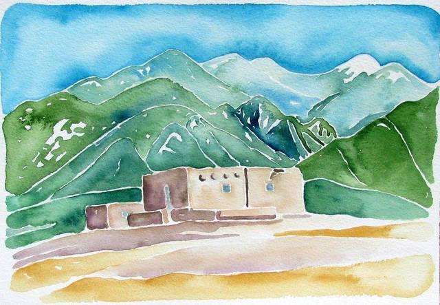 , 'Adobe, Taos Pueblo,' 2015, Ro2 Art