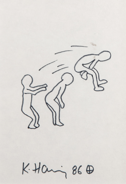 After Keith Haring, 'Untitled', 1986, Tate Ward Auctions
