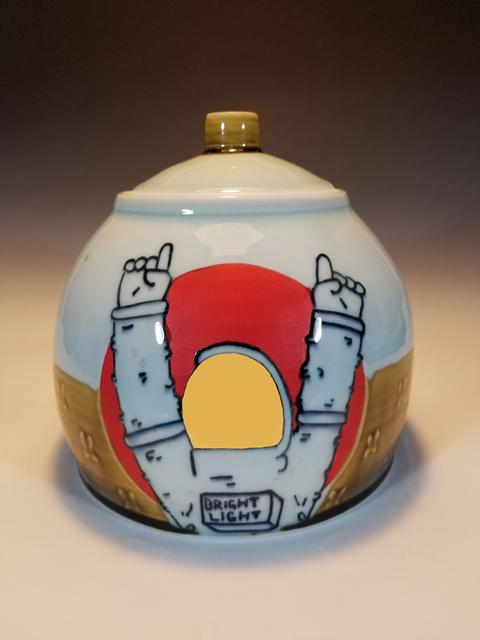 , 'Large Astro Jar,' 2018, Springfield Art Association