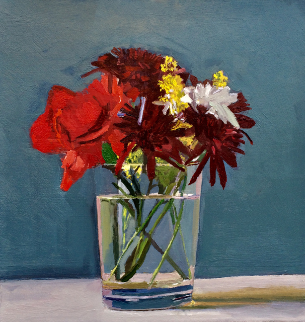 Dan McCleary, 'Mixed Flowers with Red Carnation', 2017, Craig Krull Gallery