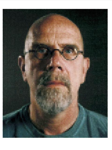 Chuck Close, 'Self-Portrait', 2012, Adamson Gallery