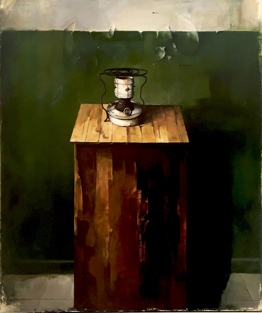 Dim Yuz, 'old times', 2008, Painting, Oil on canvas, Dan Gallery