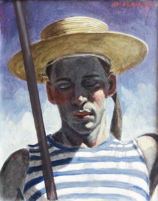 , 'Boris as a Gondolier,' date unknown, Carrie Haddad Gallery