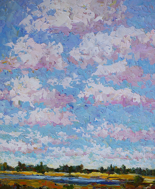 , 'Billowing Clouds,' , Gallery 901