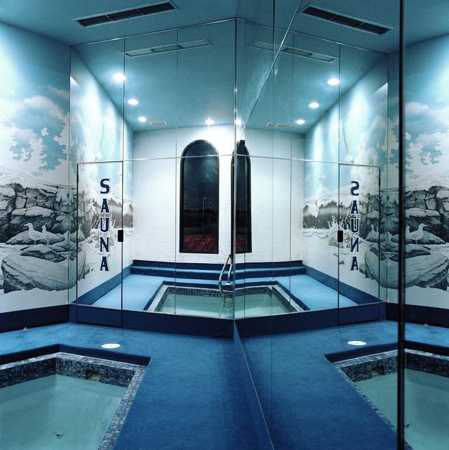 , 'Sauna, Paradise Stream, Mt. Pocono, PA,' 1979, George Eastman Museum