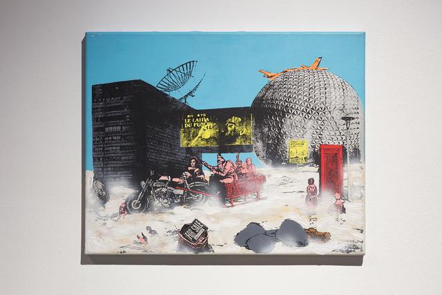 Eric Lamontagne, 'Le progrès (quadryptique)', 1991, Art Mûr