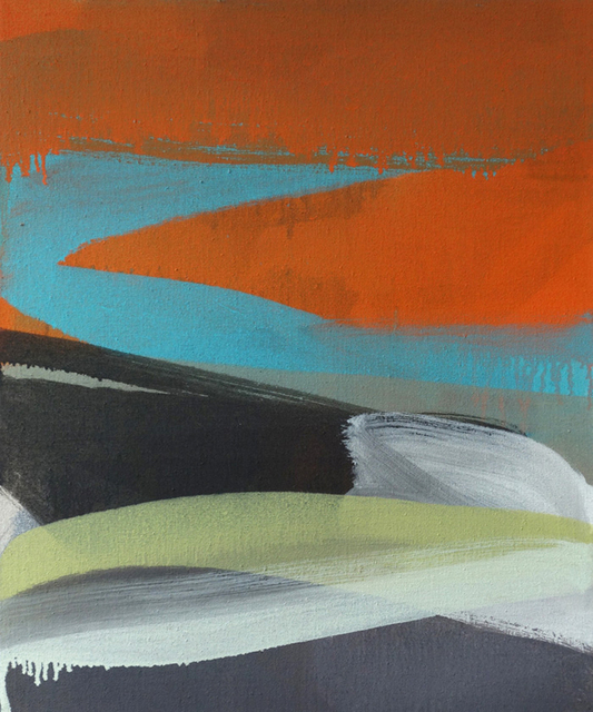 , 'Liquid Orange,' 2016, AMP: Art Market Provincetown