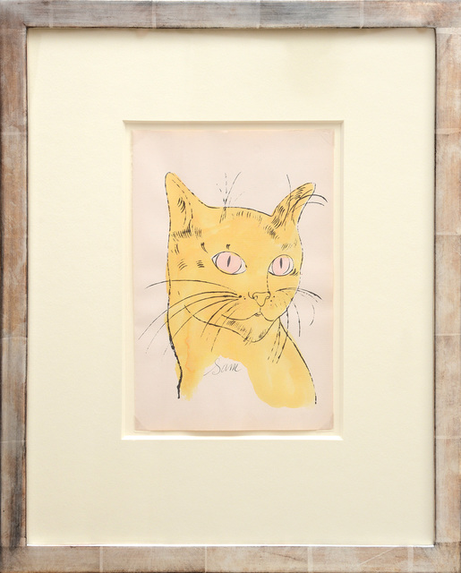 , 'Sam [Portrait of yellow cat with pink eyes],' 1954, Peter Harrington Gallery