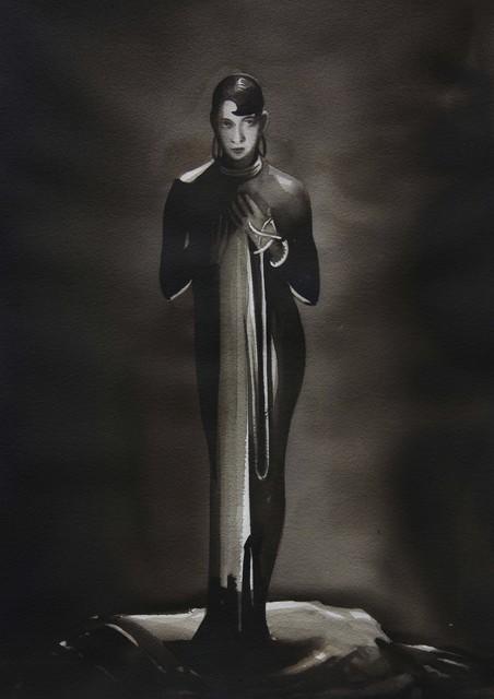 ", 'Josephine Baker, from the series ""Female Heroes"",' 2016, PRISKA PASQUER"