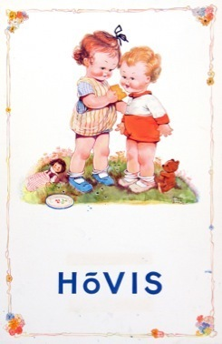 , 'TAKE JUST ONE BITE, HOVIS, YOUR BAKER BAKES IT!,' 1925, Chris Beetles Gallery