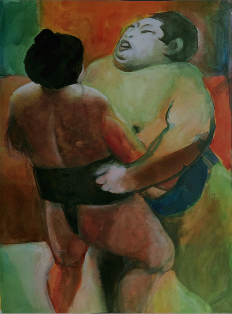 , 'Sumo 1,' 2016, Carter Burden Gallery