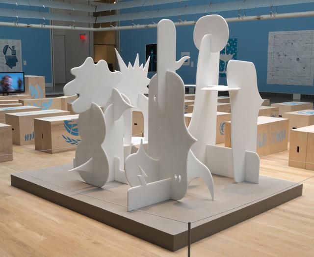 , 'Colloquium (Caucus),' 2013, Hammer Museum