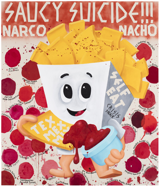 , 'Saucy Suicide Narco Nacho,' 2015, Galerie Forsblom