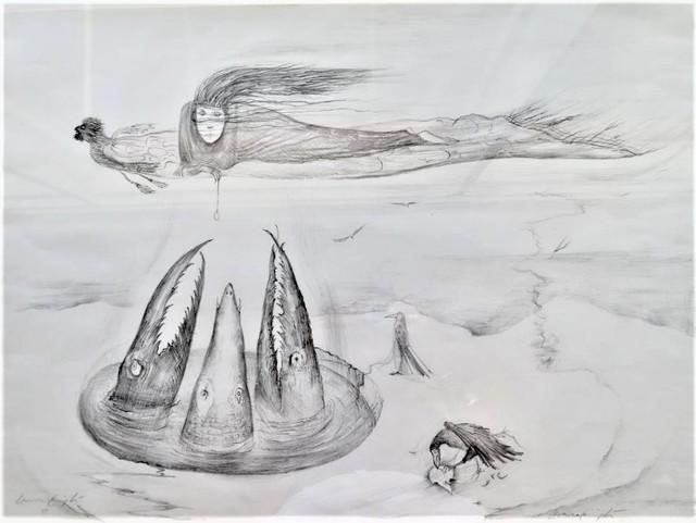 Leonora Carrington, 'Crocodiles', 1972, Redbud Gallery