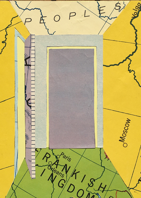Zsofia Schweger, 'Off The Map III, #1', 2017, Inda Gallery