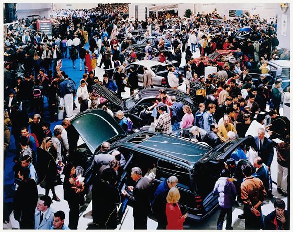 , 'Autosalon, Paris,' 1993, Mai 36 Galerie
