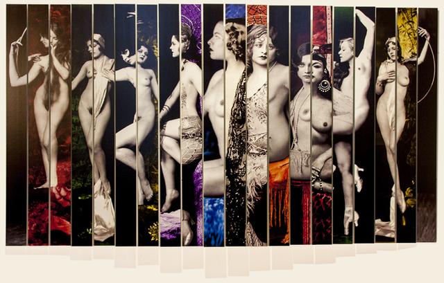 , 'Ziegfeld Girls,' 2016, Sundaram Tagore Gallery