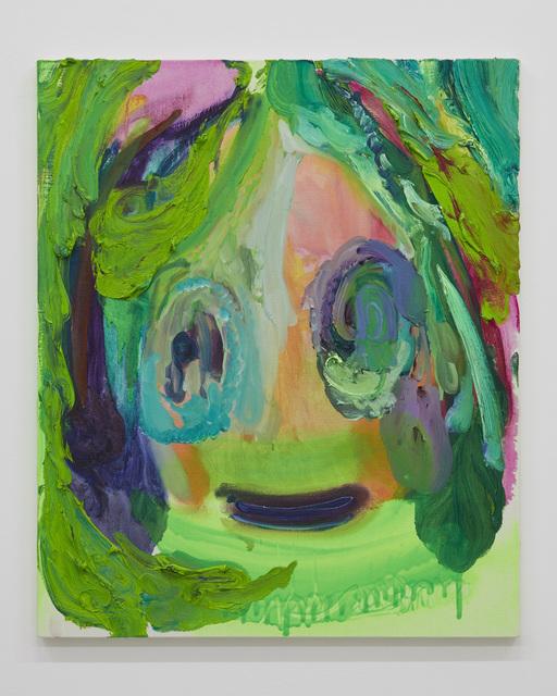 , 'Self portrait, funny smile.,' 2018, Tomio Koyama Gallery