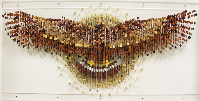 , 'Golden Eagle (In God You Trust),' 2017, Bernice Steinbaum Gallery