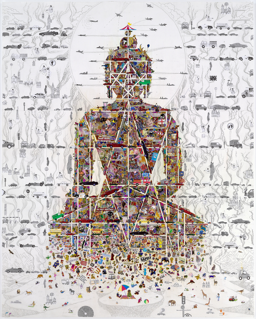 , 'Buddha in Our Time,' 2010, 10 Chancery Lane Gallery