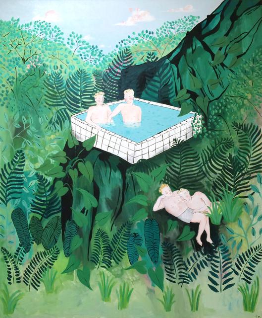 , 'Jungle Scene,' 2017, Projet Pangée