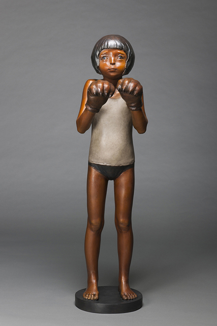 , 'The Boxer,' 2013, Line Gallery