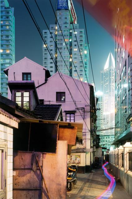 Horst & Daniel Zielske, 'Yan 'an Donglu, Shanghai', 2005, Photography, C-print facemounted on Diasec, Richard Levy Gallery