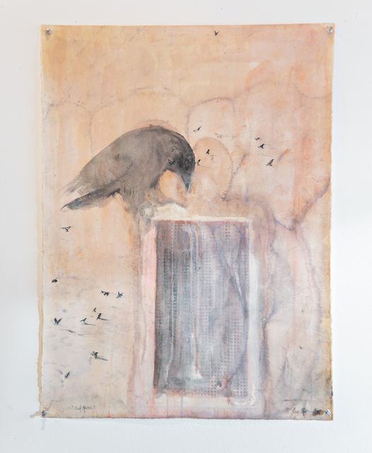 , 'PINK RAVEN,' 2009, Traver Gallery