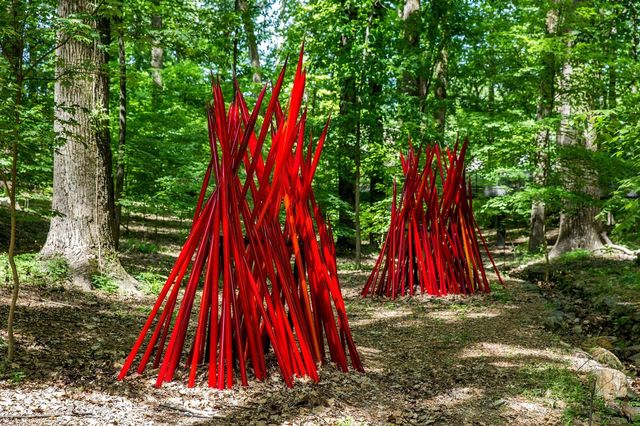 , 'Red Reeds,' 2014, Crystal Bridges Museum of American Art
