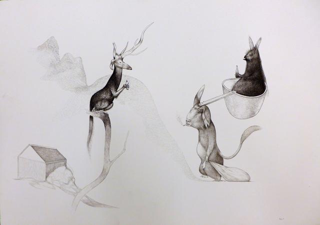 Per Dybvig, 'Untitled', 2014, Christine König Galerie