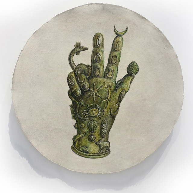 Kahn & Selesnick, 'The Hand of Sabazios', ca. 2018, Carrie Haddad Gallery
