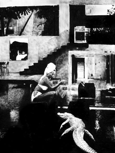 , 'The living room,' 2018, Bernhard Knaus Fine Art