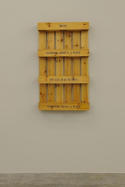 , 'Boat/Sliding Down,' 1998, Sfeir-Semler