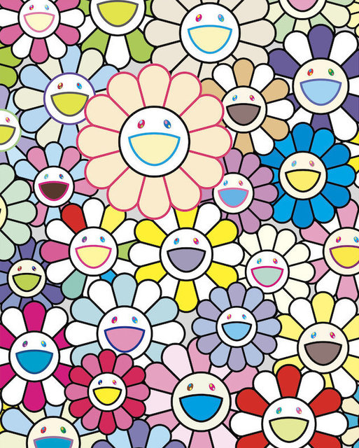 Takashi Murakami, 'Field of Flowers', 2020, Vogtle Contemporary