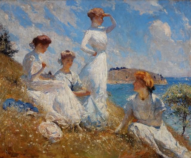 Frank Weston Benson, 'Summer', 1909, Painting, Oil on canvas, RISD Museum