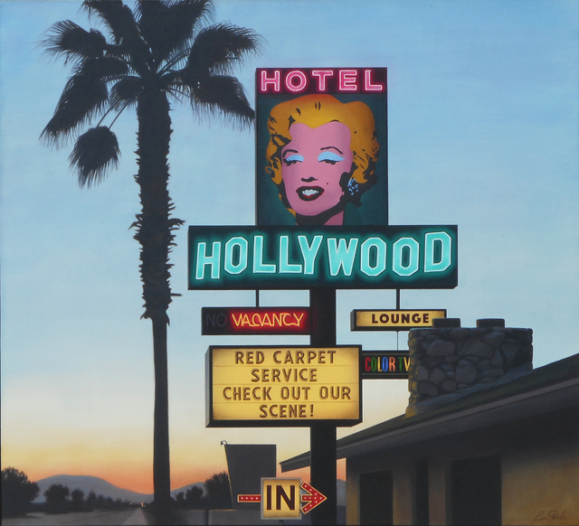 , 'Hotel Hollywood,' 2017, CODA Gallery
