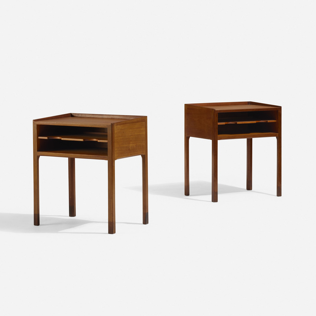 Willy Beck, 'Occasional tables, pair', c. 1960, Wright
