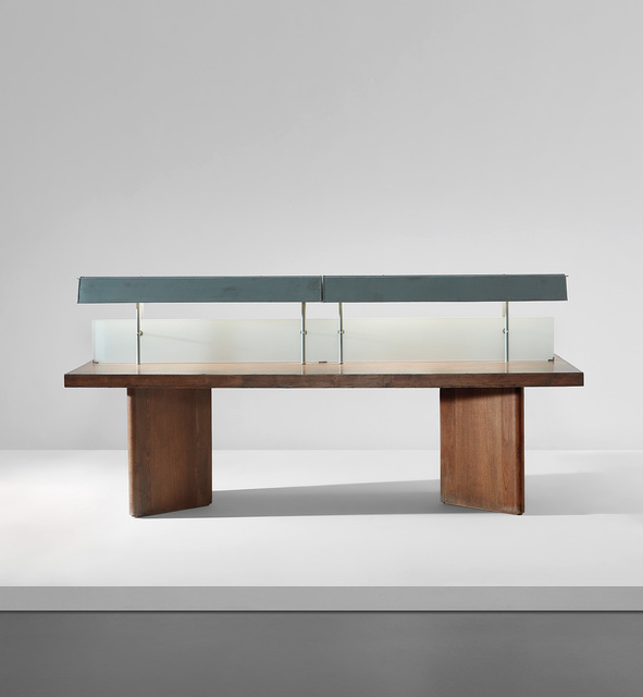 Pierre Jeanneret, 'Illuminated reading table, model no. PJ-TAT-10-B, designed for the Assembly and the University Library, Chandigarh', 1963-1966, Phillips