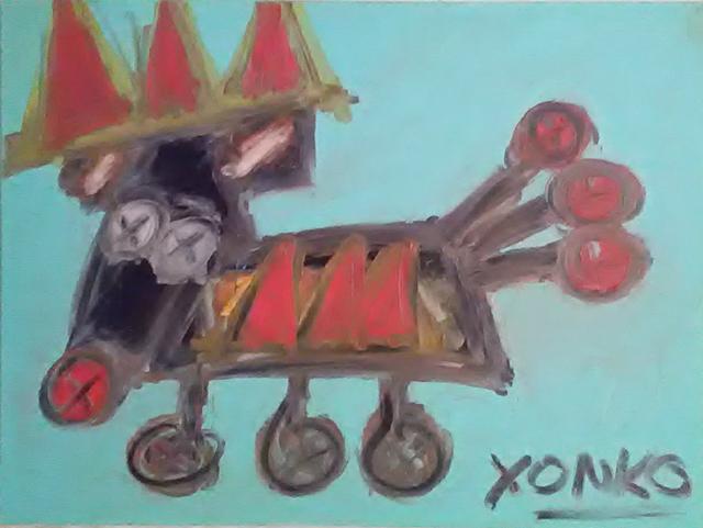 , 'Tippy the Wonder Dog,' 2018, Kuchera