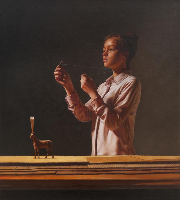 , 'Delfter Mädchen,' 2016, REITER