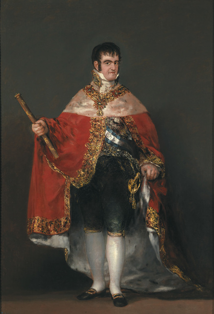 , 'Ferdinand VII in Court Dress,' 1814-1815, The National Gallery, London