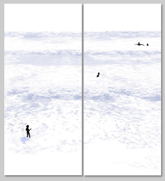 , 'Beach 90 & 91,' 2013, Lanoue Gallery