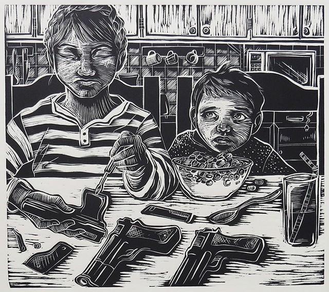 , 'Café da Manhã,' 2016, Kogan Amaro