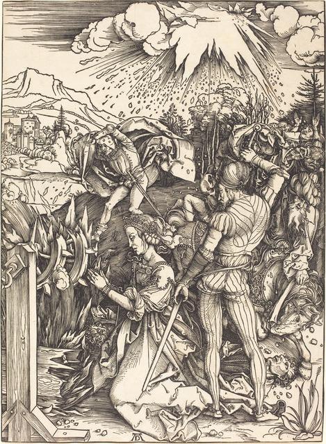 Albrecht Dürer, 'The Martyrdom of Saint Catherine', ca. 1497/1499, National Gallery of Art, Washington, D.C.