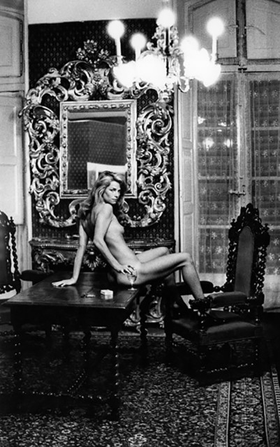 Helmut Newton, 'Charlotte Rampling at the Hotel Nord Pinus, Arles, France (Signed)', 1973, Provocateur Gallery