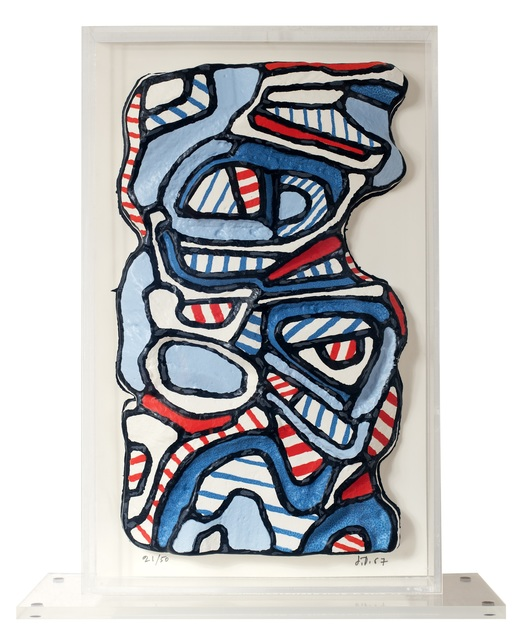 Jean Dubuffet, 'Personnage Mi-Corps ', 1967, Galerie F. Hessler