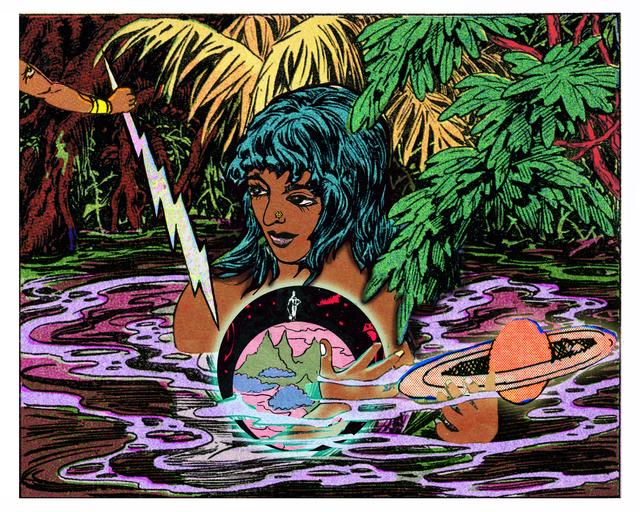 , 'Girl, Water, Globe,' 2016, Gallery Espace