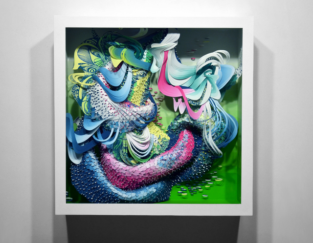, 'Spectrum: Bio Interloper VI,' 2014, Hashimoto Contemporary