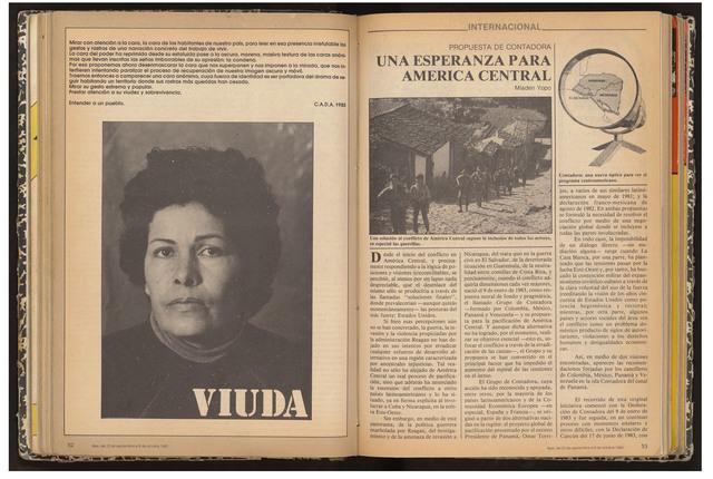 , 'VIUDA - REVISTA APSIS,' 1985, ANINAT ISABEL GALERIA