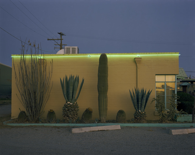 Steve Fitch, 'On the Tucson to Nogales Highway, Greyhound Motel, Tucson, Arizona; December 30, 1980', photo-eye Gallery